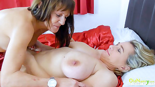 OldNannY Busty Matures from Britain Together