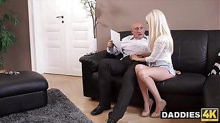 Stunning Hungarian Babe Fucks Her Boyfriend's Experienced Dad