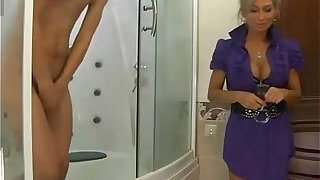 Housewife Sucking Young Cock