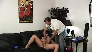 Blistering bigtit incomprehensible MILF Pornstar Diamond Foxxx fucks dick