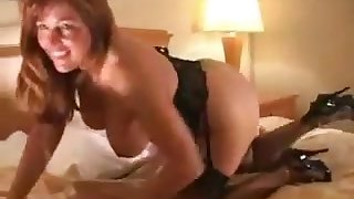 Full-Breasted cuckold mature plateau stockings shagged by black guys