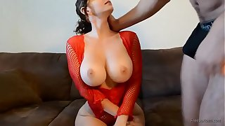 Amateurish sexy big tits with an increment of fat ass MILF fucked