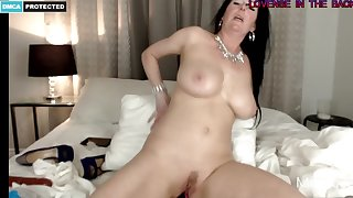 Arousing Housewife Likes To Ordinance Yon Her Arousing Asshole