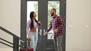 Unforgettable and passionate anal sex pastime with bodacious French demiurge Anissa Kate