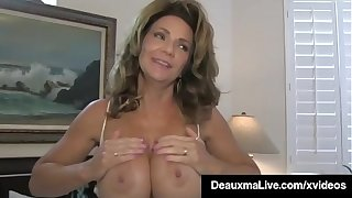 Busty Materfamilias Deauxma Helps Hubby Ass Fuck Hot Sally D'Angelo!