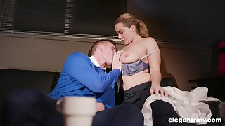 Natasha On the mark gets their way pussy and ass firmly pumped