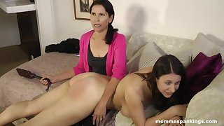 Inappropriate Viewing - lesbian spanking good-luck piece HD