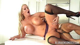 Mature gets their way soaked pussy fucked merciless and jizzed