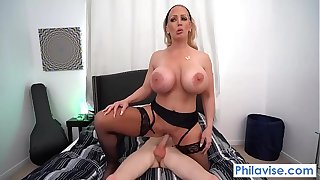 PHILAVISE-A warm welcoming from my amazonian milf neighbor Alura Jenson