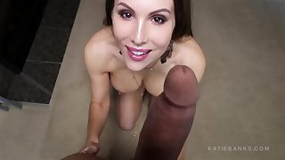 katie banks - vip bareback purpose of view riding intense intercourse