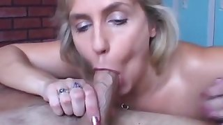 Beautiful beefy old spunker gives an amazing scruffy blowjob