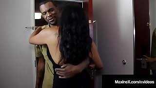 Ass Fucked Asian Milf Maxine-X Is Butt Banged By Inky Cock!