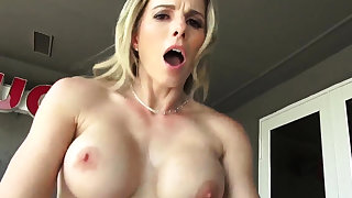 Teen gets ass disregarded Cory Chase in Revenge On Your Father