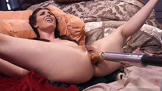 Extreme anal sex with make an issue of new fucking contraption