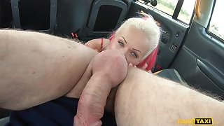 Fucking with respect to a taxi was a total thrill ride for ball-licking Cindy Sun