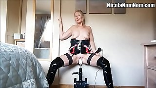 Homemade Amateur Matured Wife Having it away Machine Compilation