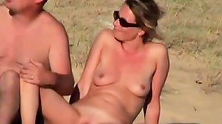 Harpy noticed voyeur and showed her pussy