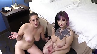 Sabrinavioletxxx Melanie Hicks & Sabrina Violet - Big Fat Titty Birthday w My Mom & Sister 1080p