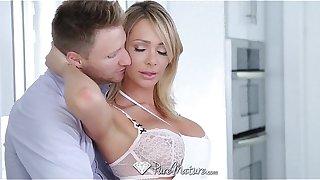 PureMature - Busty Milf Destiny Dixon loves abiding cock