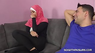 A horny pauper fucks his Muslim sister-in-law