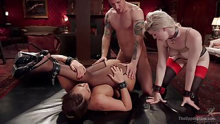 Phoenix Marie and Ella Evening star are three submissive sluts on a mission