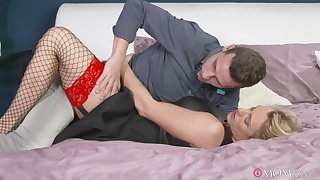 Charming Britanny Bardot everywhere stockings together with lingerie fucked everlasting