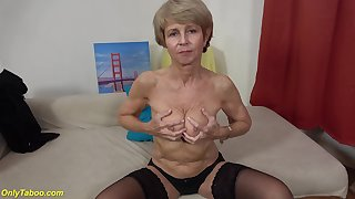 Ugly 75 years old grandma primary time heavens video