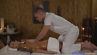 Oiled ass spoil loves a bit of naughty epoch close to the masseur